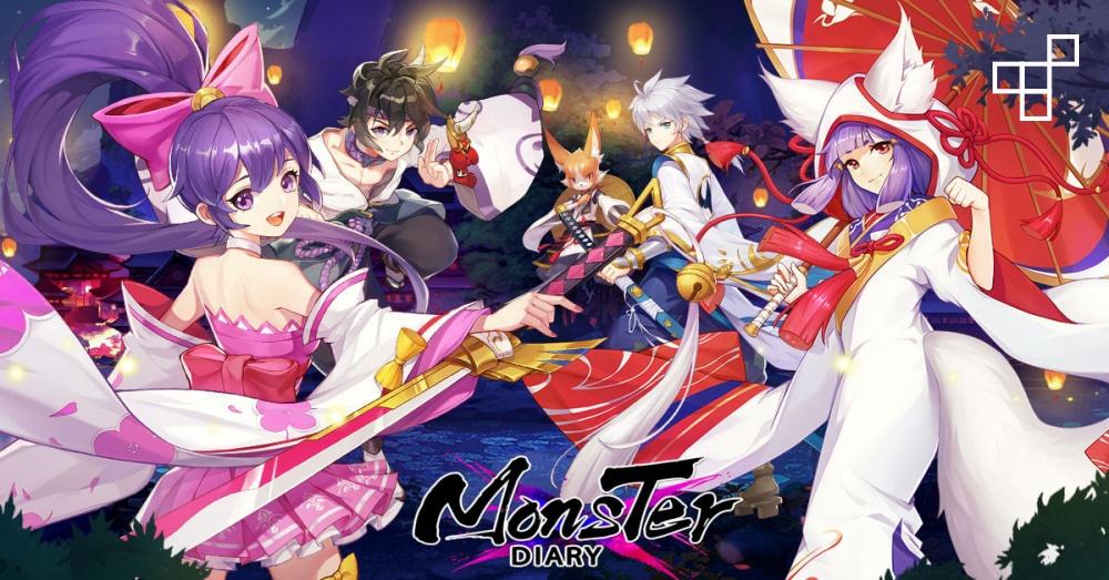 Monster Diary (Yokai Tamer) เกมแนว MMORPG สไตล์ญี่ปุ่นที่ตัวเกมมีจุดน่าสนใจอย่าง GamePlay ตัวละครน่ารัก สดใส ตามแบบญี่ปุ่นแท้ๆ