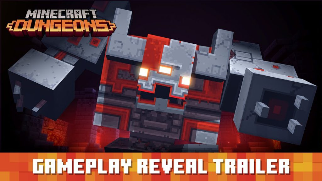Minecraft Dungeons เตรียมให้เล่นแล้วปีหน้า