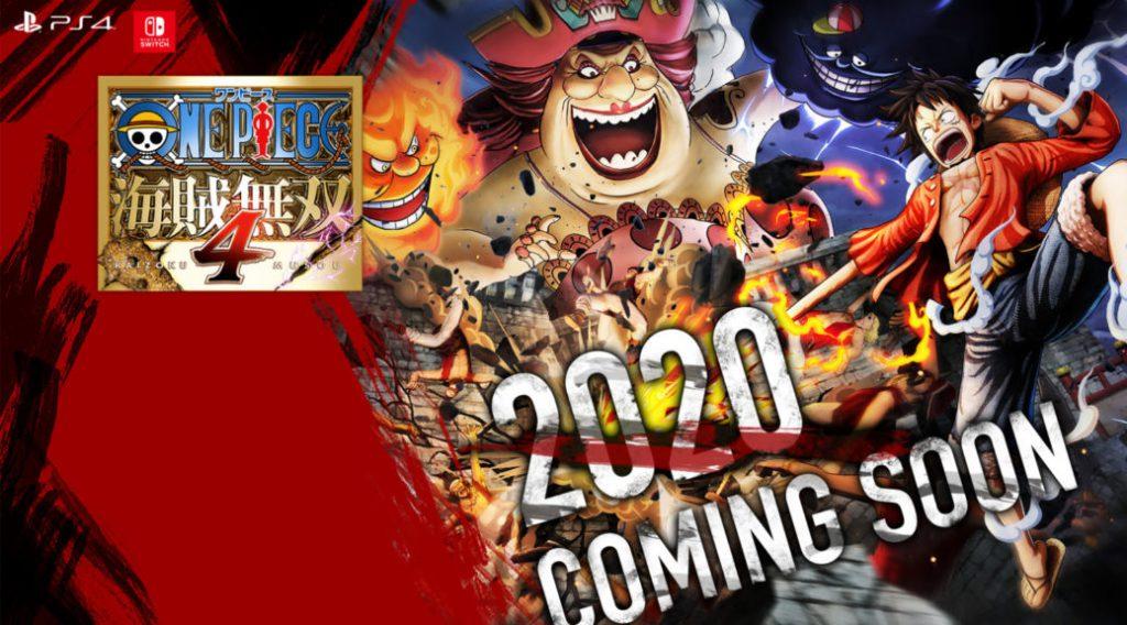 Bandai Namco กำหนดวันออกจำหน่ายเกม One Piece: Pirate Warriors 4 แล้ว