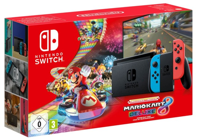 Nintendo Switch เครื่องคอนโซลของเทศกาล Black Friday