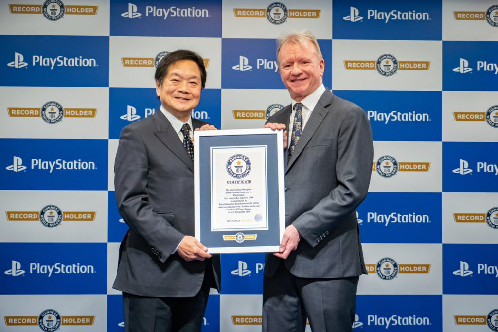 PlayStaion ได้รางวัล Guinness World Records เครื่องเกมที่ขายดีสุดในโลก