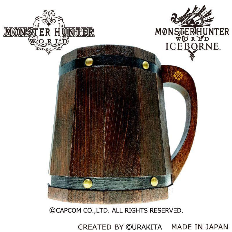 Monster Hunter World ออกมาประกาศขายแก้วเบียร์