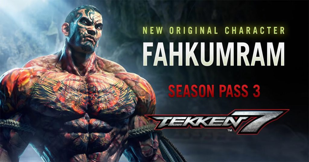Tekken 7 เพิ่มตัวละครใหม่ ฟ้าคำราม นักมวยสุดโหด
