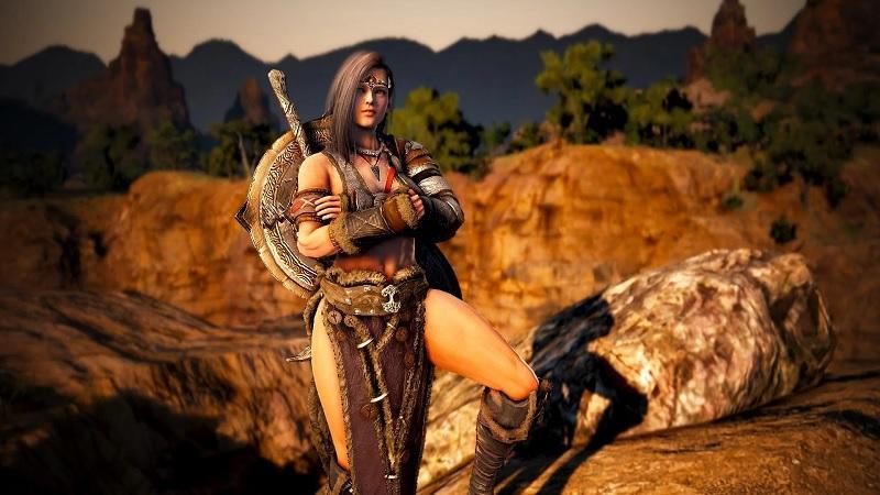 Guardian นักรบสาวโบราณถือขวานสุดเท่ของ Black Desert