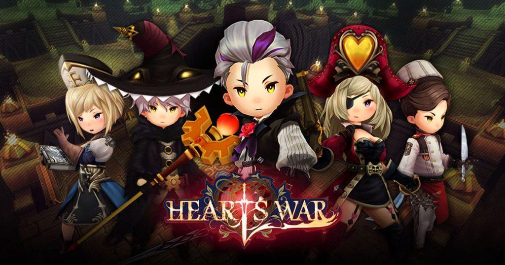 HeartsWar เพิ่มเวลา CBT ขยายเวลาความสนุกไปจนถึง 25 ธันวาคมนี้