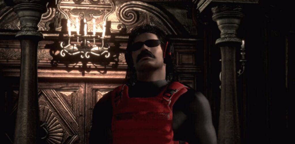 Resident Evil 2 Dr.DisRespect Mod สุดจัดของเกม