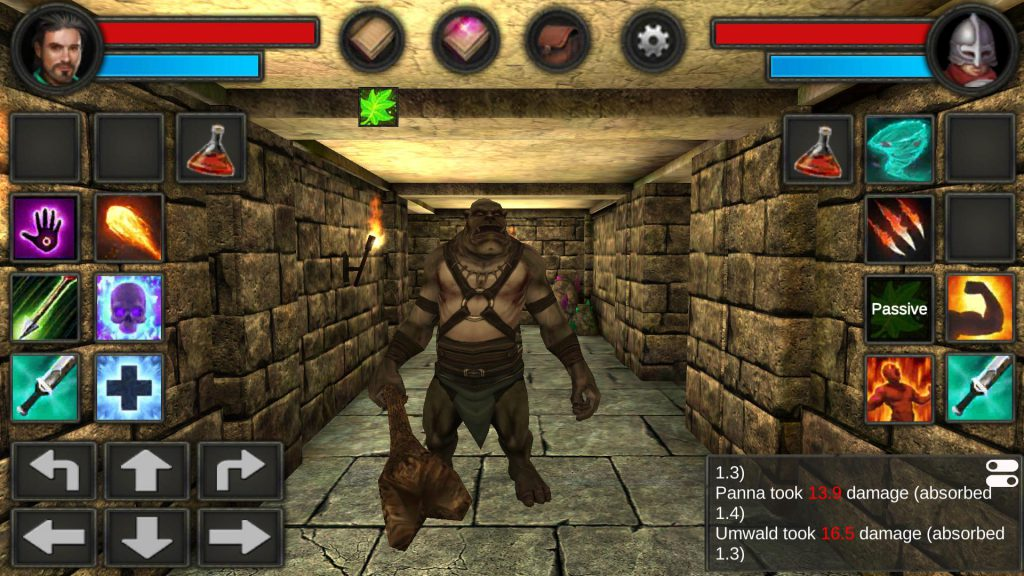 Moonshades: a dungeon crawler RPG เกมตะลุย Dungeon สนุกจัด