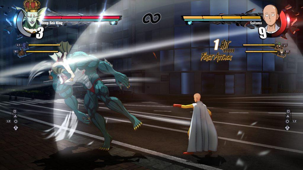 จัดไป สเปคเครื่องที่จะใช้เล่น One Punch Man: A Hero Nobody Knows