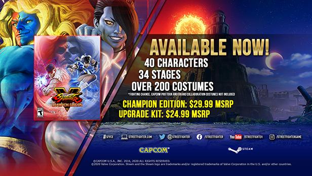 Street Fighter V - Champion Edition - กับตัวอย่างใหม่ล่าสุดตอนนี้!!!