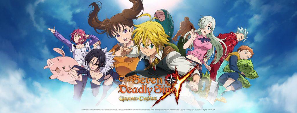 Seven Deadly Sins : Grand Cross ใกล้คลอดให้เราได้เล่นกันแล้ว