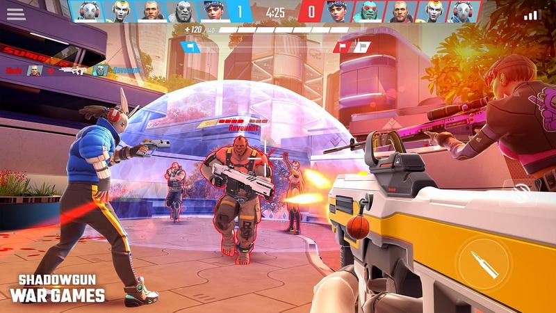Shadowgun War Games เกม FPS สีสันสดใสพร้อมให้บริการแล้ว