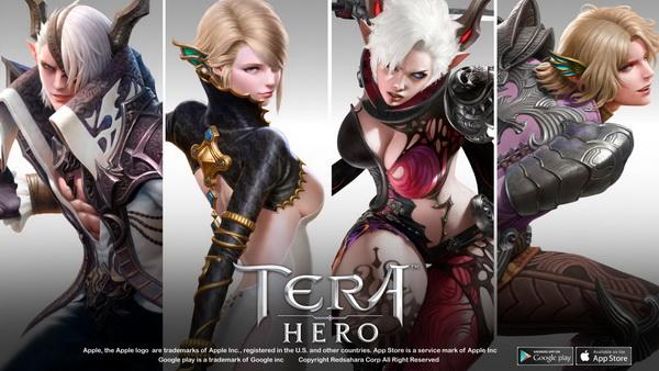 TERA Hero - ปล่อยตัวอย่างตัวละครในเกมทั้งหมดให้เห็นแล้ว