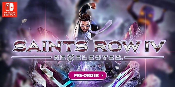 Saints Row IV Re-Elected สาวก Nintendo Switch เจอกันแน่นอนปีนี้!!!