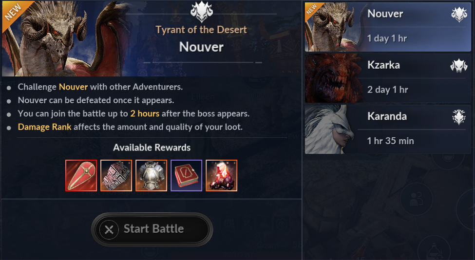Black Desert Mobile - เพิ่ม World Boss สุดโหดตัวใหม่ นูเวอร์
