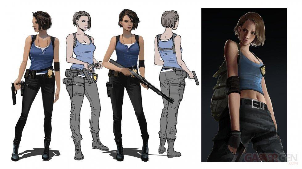 Resident Evil 3 หลุดภาพ Screenshot ในเกมก่อนวางขาย!!!