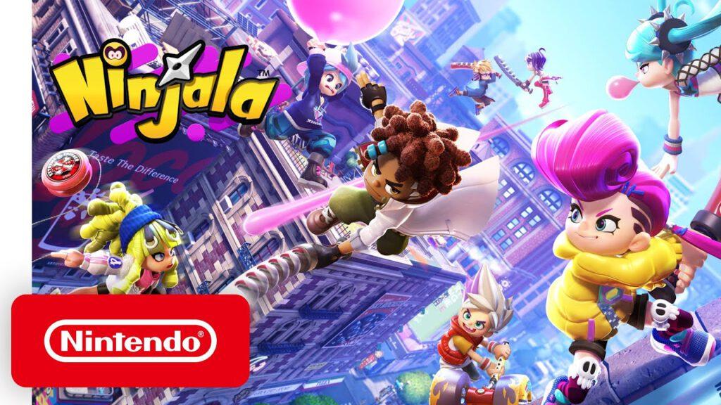 ตัวอย่าง Gameplay - Ninjala เกม action battle game อีกตัวที่น่าเล่น