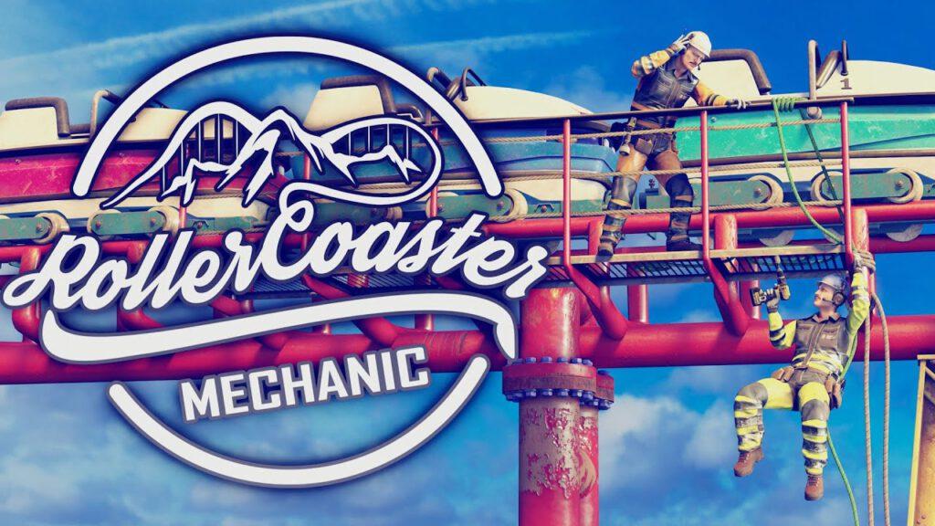 Rollercoaster Mechanic เกมจำลองการเป็นช่างในสวนสนุก