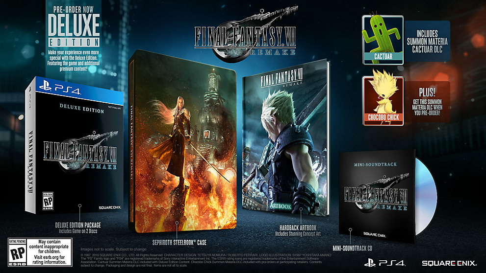 ตัวอย่างสุดท้ายก่อนเกม Final Fantasy VII Remake จะออกวางจำหน่าย!!!
