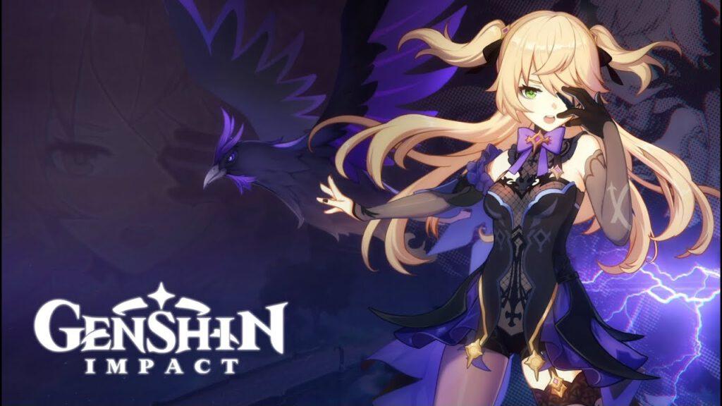 ตัวอย่างตัวละครใหม่ Fischl: Glanz der Nacht จาก Genshin Impact !!