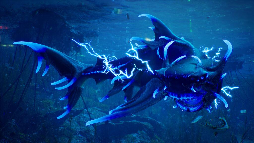 เกมฉลามคลั่ง เขมือบ! สำรวจ! วิวัฒนาการ!